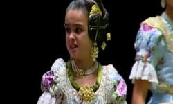 rostros de emoción en  Corte de honor y candidatas a Fallera Mayor Infantil de Valencia fallas (18)