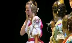 rostros de emoción en  Corte de honor y candidatas a Fallera Mayor Infantil de Valencia fallas (19)