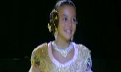 rostros de emoción en  Corte de honor y candidatas a Fallera Mayor Infantil de Valencia fallas (22)