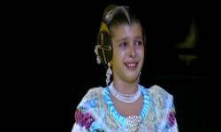 rostros de emoción en  Corte de honor y candidatas a Fallera Mayor Infantil de Valencia fallas (41)