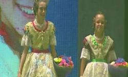 rostros de emoción en  Corte de honor y candidatas a Fallera Mayor Infantil de Valencia fallas (6)