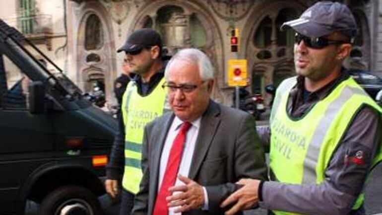 Andreu Viloca, tesorero del partido independentista catalán CDC, fue detenido