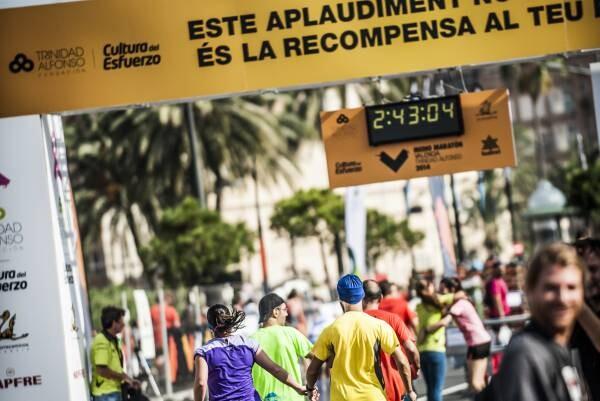 12.500 atletas participarán el domingo en el Medio Martón Valencia Trinidad Alfonso.