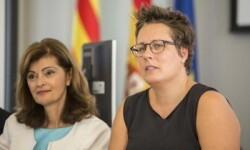 Ana Botella y Mª José Mira en el Comité de Programación del DPECV2015