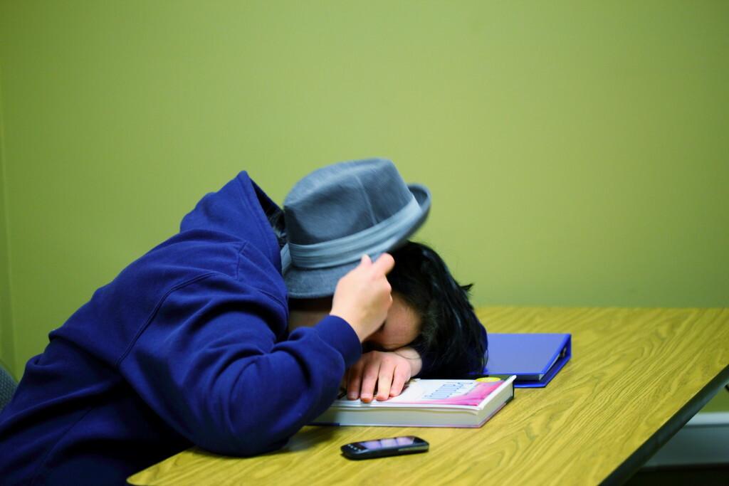 Adolescente durmiendo. Foto: D Sharon Pruitt