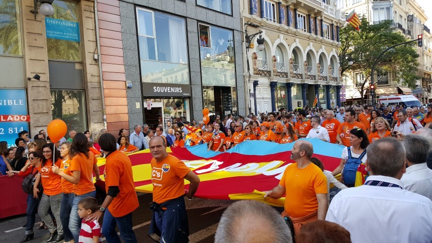 9 octubre procesion civica valencia senyera 20151009_125334 (11) (Small)