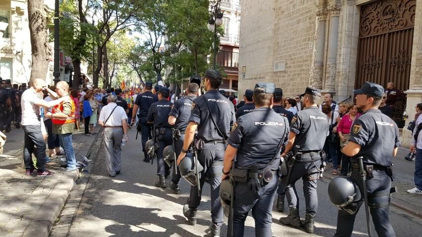 9 octubre procesion civica valencia senyera 20151009_125334 (38) (Small)