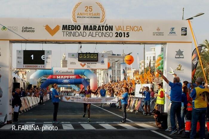 Abraham Cheroben, ganador d ela competición. (Foto-Valencia Noticias).