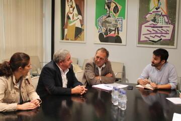 Alicia Torres, Daniel Matoses, Miquel Soler y Vicent Marzà