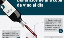 Beneficios de una copa de vino (infografía). Dra. Marta Busquets Romagosa - copia