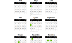 Calendario Laboral Valencia 2016