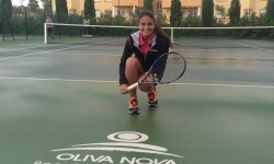 Carla Pons en Oliva Nova