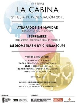 Cartel de la II Fiesta del certamen.