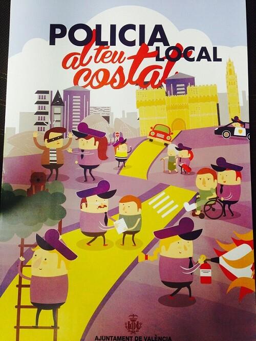 Cartel del Día de la Policía Local.