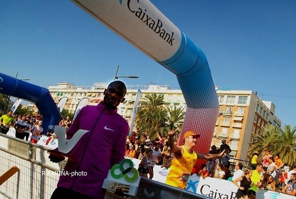 Cheroben vuelve a imponerse en el Medio Maratón Valencia Trinidad Alfonso. (Foto-Valencia Noticias).