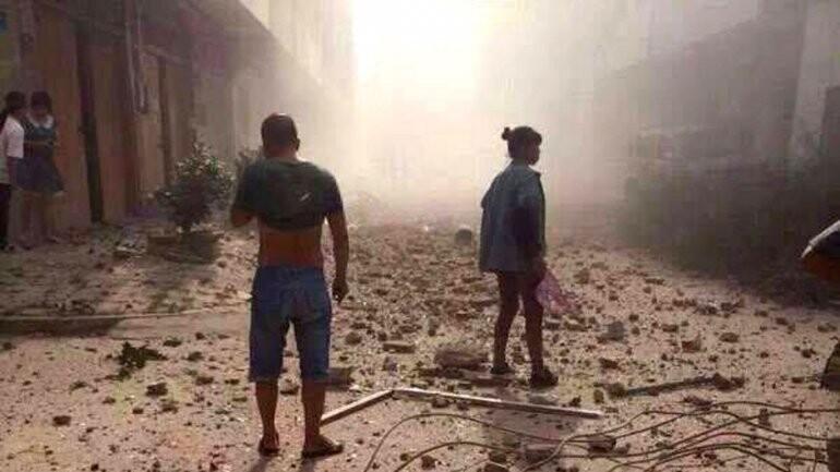 China registró una nueva explosión en el sur del país