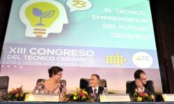 Clausura XIII Congreso del Técnico cerámico.