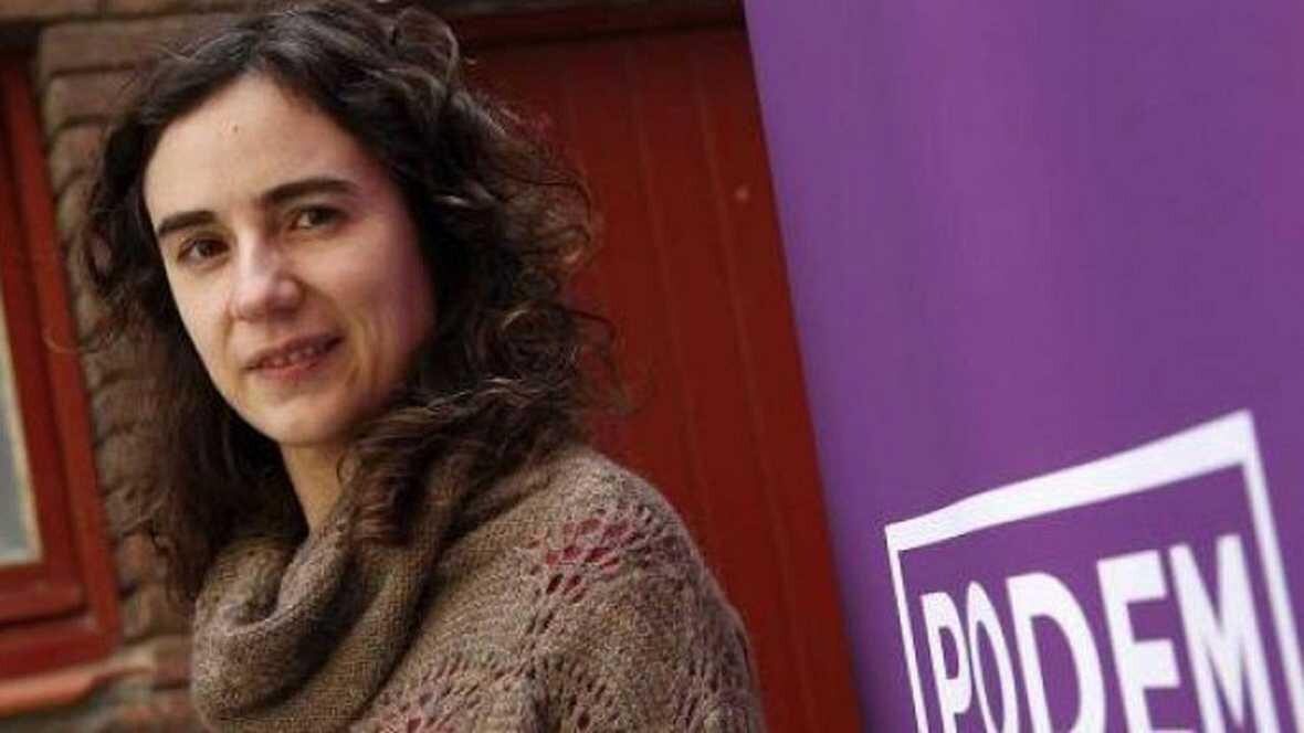 Dimite Gemma Ubasart la líder de Podemos en Cataluña