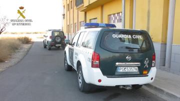 Doce detenidos tras la incautación de 87 kilos de marihuana en Godelleta, Chiva y Turís guardia civil (2)