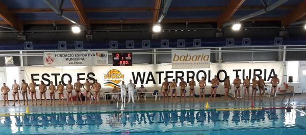 El CD Waterpolo Turia venció por 11 tantos contra 9 al CN Caballa de Ceuta.