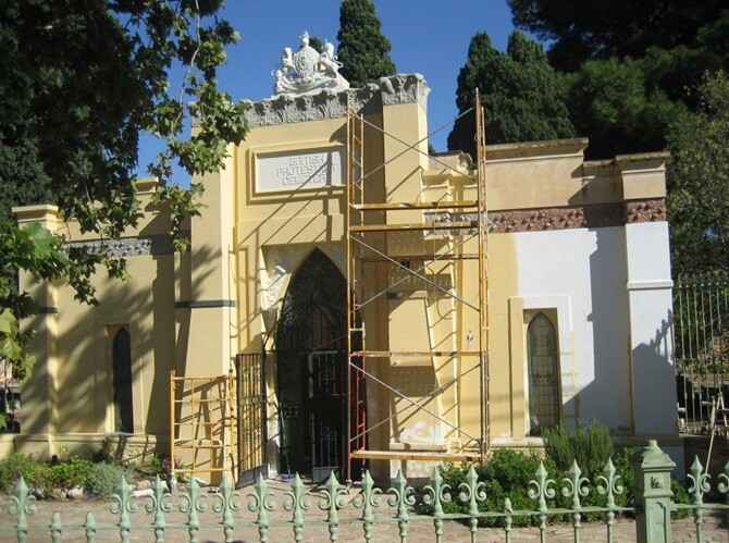 El Cementerio Británico de Valencia renueva su imagen.