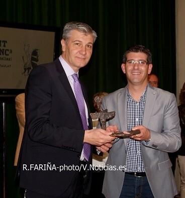 El Centre Escalante también recibió su premio por el impulso de su trabajo.