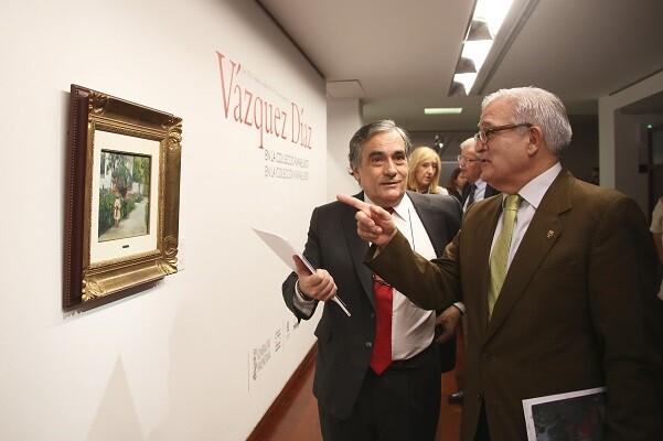 El MUBAG rinde homenaje al gran artista Vázquez Díaz con una muestra que exhibe parte de su legado.