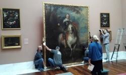 El Museo de Bellas Artes restaura el 'Retrato de Francisco de Moncada', de Van Dyck.