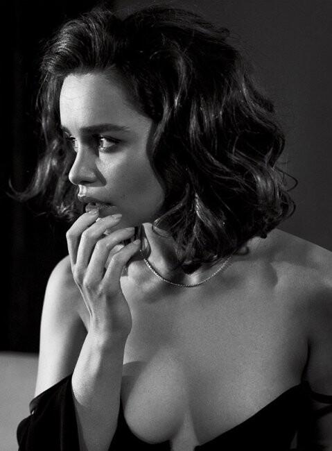 El desnudo de Emilia Clarke para la revista Esquire (5)