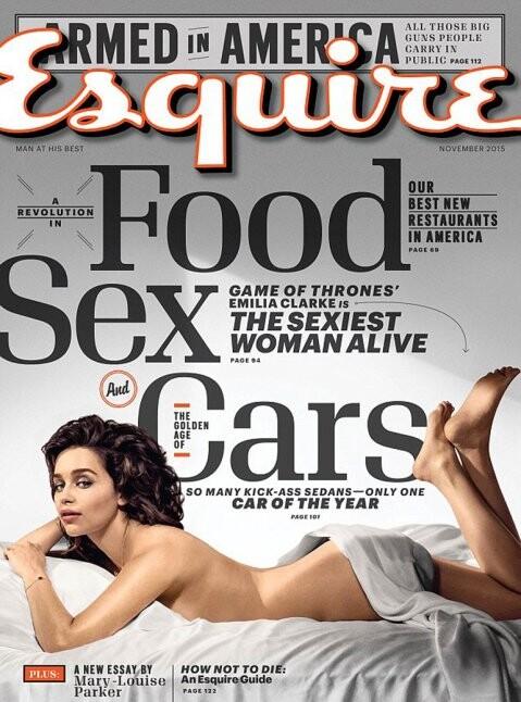 El desnudo de Emilia Clarke para la revista Esquire (6)