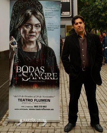 El director, actor y productor José Sáiz. (Foto-Valencia Noticias).