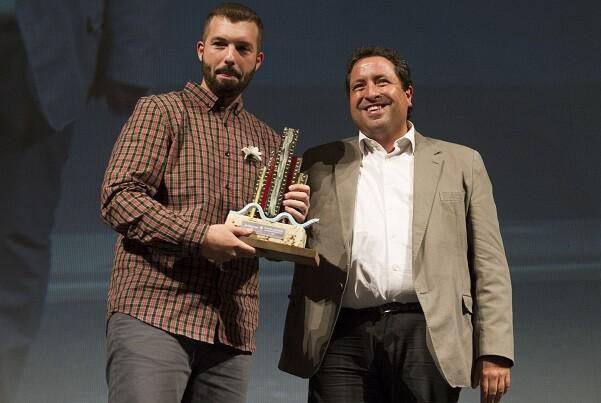 El director castellonense Héctor Martín gana el premio Cortometrando por el corto 'Flores'.