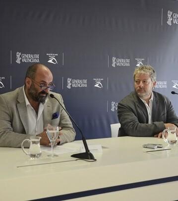 El maestro Biondi y el Intendente Davide Livermore comparecieron ayer en rueda de prensa para presentar este concierto.