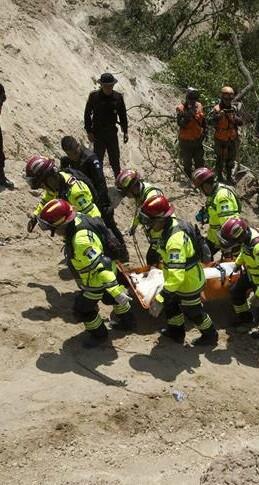 El terrible desastre natural se registró en El Cambray II, a unos 22 kilómetros de la capital guatemalteca.