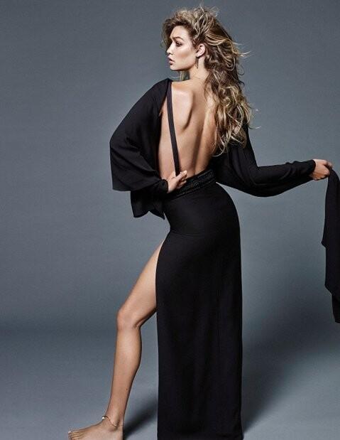 El topless de Gigi Hadid para Vogue (5)