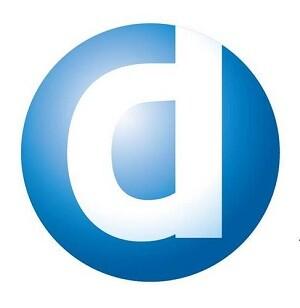 Emblema de la firma Dentsu Sports Asia.