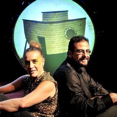 En 'El arca de Noé', la fuerza del espectáculo recae en la narración, a cargo de la actriz Jordina Biosca.