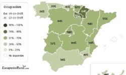 Escapadarural.com mapa ocupacion puente de El Pilar