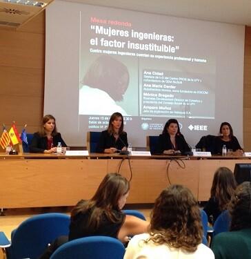 Esta jornada ha estado organizada por el Comité español de Mujeres en la Ingeniería.