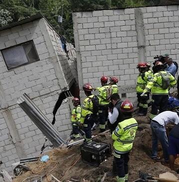 Este deslizamiento está considerado como la mayor catástrofe natural que sufre Guatemala en lo que va de 2015.