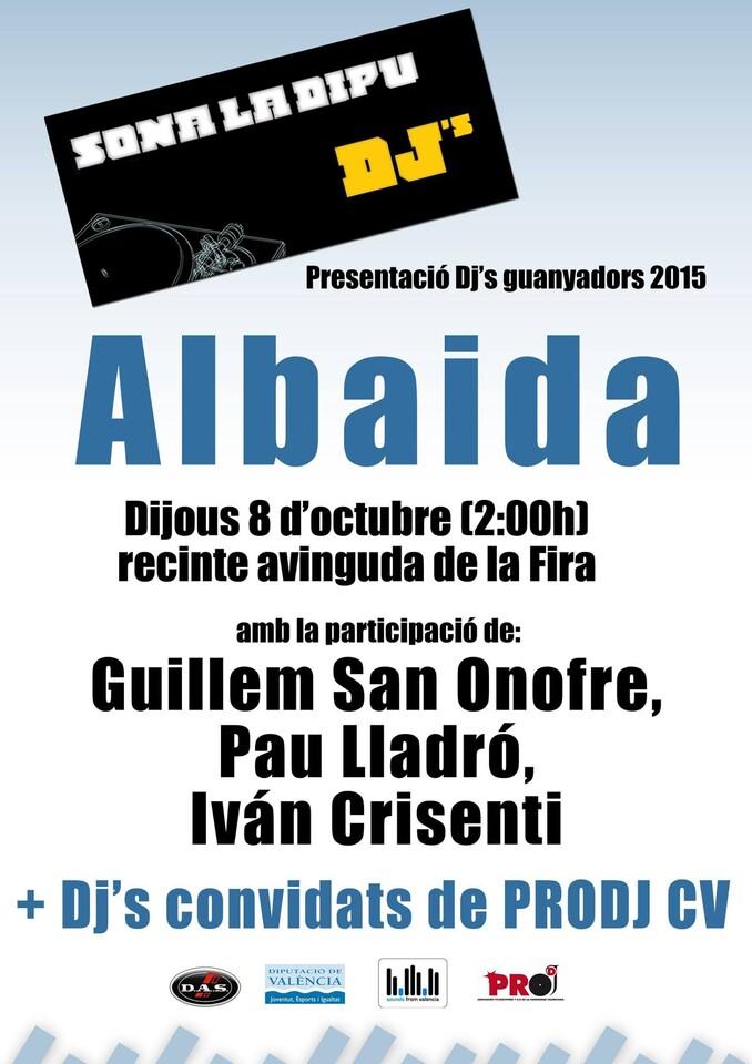 F 8 OCT. ALBAIDA