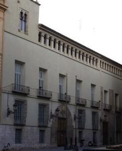 Fachada del Palacio del Marqués de la Scala.