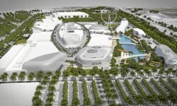 Figuración del centro comercial Puerto Mediterráneo que se quiere construir en Paterna