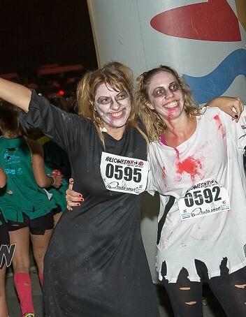 Halloween Road quiere promover a través del deporte la solidaridad con los colectivos más desfavorecidos.