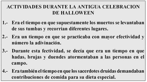 Halloween a la Luz de la Biblia Diez breves estudios acerca de la Fiesta ... ELEAZAR BARAJAS Google Libros