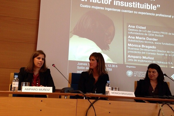 Hidraqua, participa en la jornada 'Mujeres ingenieras el factor insustituible' organizada por UPV.