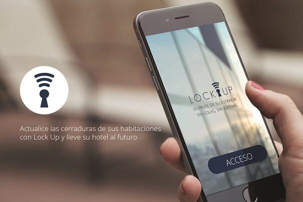 Imagen de la aplicación 'Lock Up'.