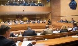 Imagen del Pleno de la  Diputación (Foto-Abulaila).