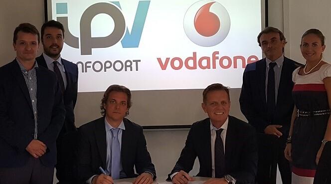 Infoport apuesta una vez más por las soluciones de Vodafone ampliando sus servicios con la red de fibra.