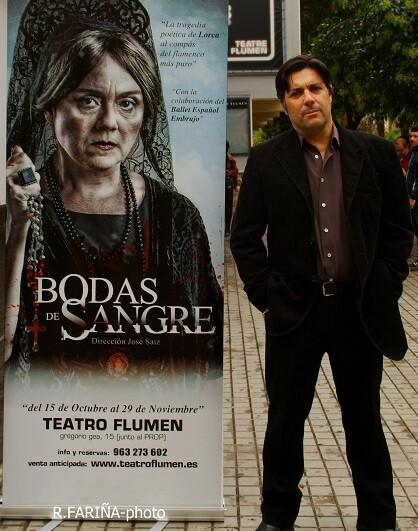 José Sáiz, director de 'Bodas de sangre'.